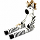 Collectable|Fair Trade| Sitting Zebra|Handmade Puppets|Unique Gift|Animal Gift